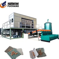 Big output nepal egg tray moulding production machines product for producing tray for eggs