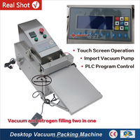 KHP-1 With Gas Filling Mini Small Food Vacuum Packing Machine