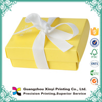 Guangzhou printing company best quality lighted christmas gift boxes handmade