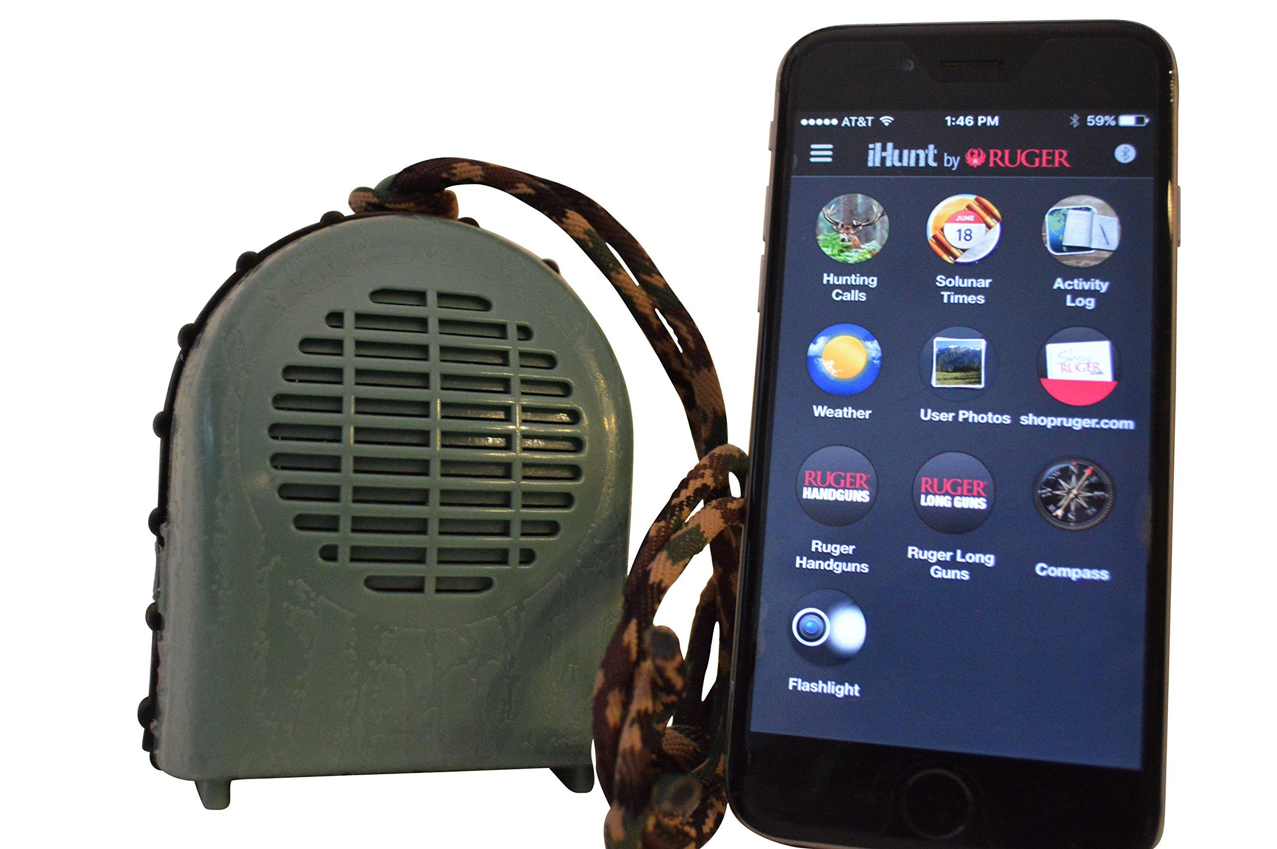 Extreme Dimension Wildlife Calls - iHunt XSB Game Call - Bluetooth App & Speaker - 700 calls - Electronic Game Calls - Hunting Calls - iHunt
