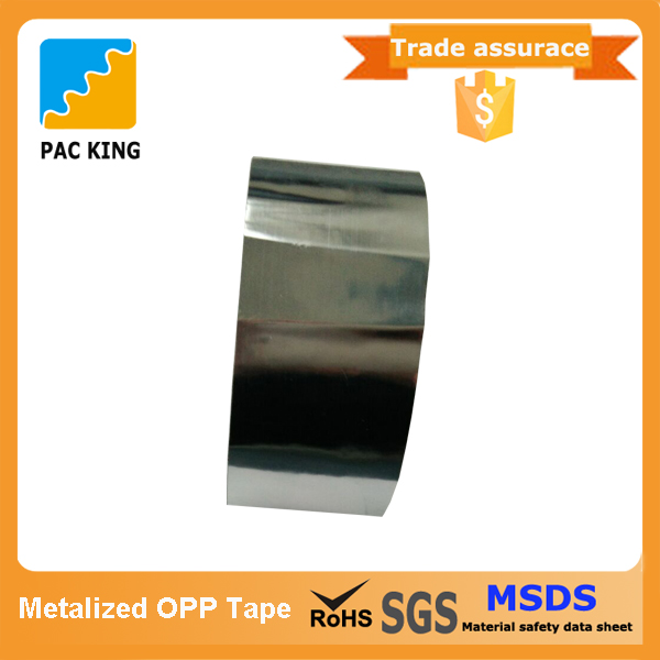 China Reliable Manufacturer Stationery Metalized OPP Tape For Gift Packing