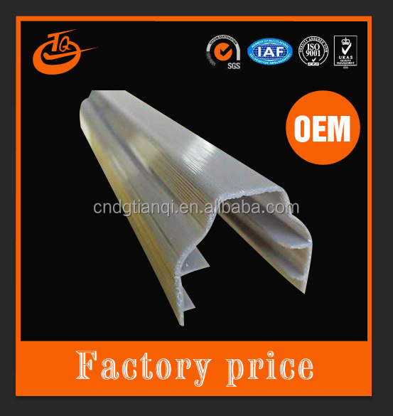Dongguan Factory supplys competitive Price frosted Led Strip Light Plastic Cover 1mm wall thickness 4ft long polycarbonate cover