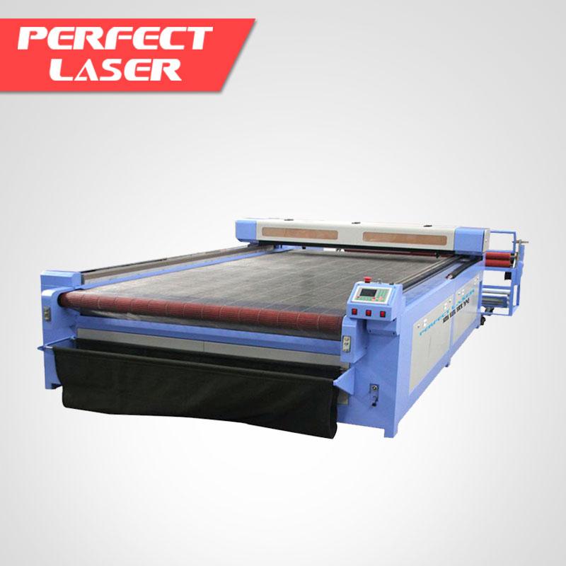 الكمال الليزر CNC القماش/النسيج/الجلود النقش بالليزر آلة السعر