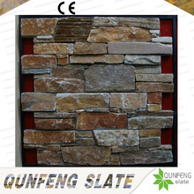 CE Passed Erosion Resistance Antacid Yellow Culture Stone Wall Slate Ledge Stone