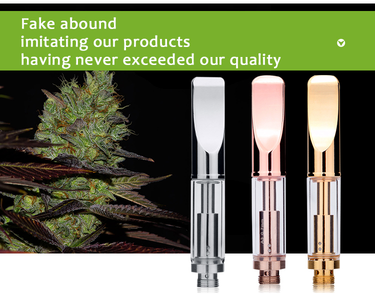 2016 USA hot trending products innovative product medical grade glass tank cbd oil cartridge oil vape pen