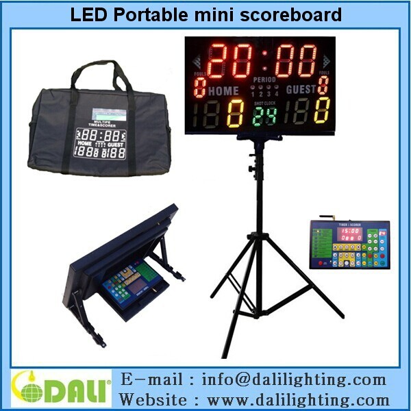 Factory Hotselling scoreboard of display for soccer score