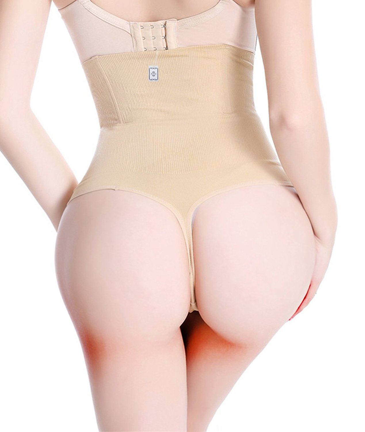 2b5c03c246cded Get Quotations · Women Waist Cincher Girdle Tummy Slimmer Sexy Thong Panty  Shapewear Thong Panty