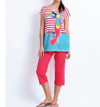de pijama mujeres de Turquía las de algodón divertido 100 EYSqE