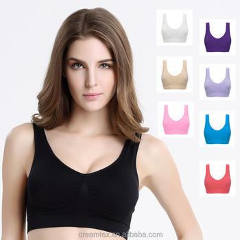 d49c1a71565c7 Hot Sale Women Sexy Gym Bra Ladies Wireless Sports Bra - Buy Bra ...