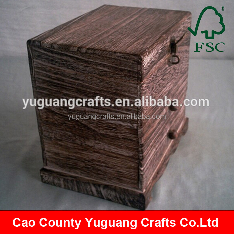 FSC approved antique Style wooden Cabinet