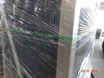 Commercial Galvanized Steel Welded Curved 3D Wire Mesh Fence