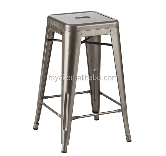China supplier Vintage industrial Stackable bar stool parts