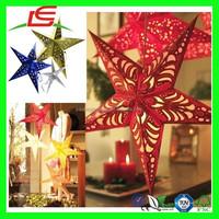 N762 Stylish New Wedding Decoration Hanging Paper Star Lanterns Wholesale