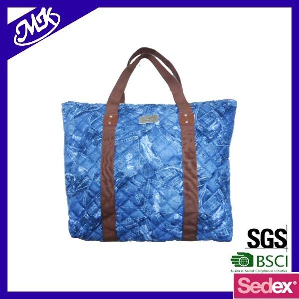 2016 New fashion canvas quill lady handbag multicolor,lady handbag, lady  handbag supplier china 848cc983c2