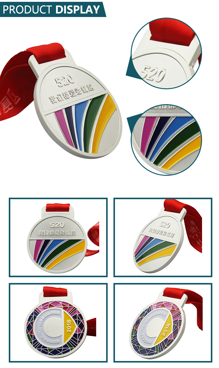 Wholesale Factory Price personalised running medal