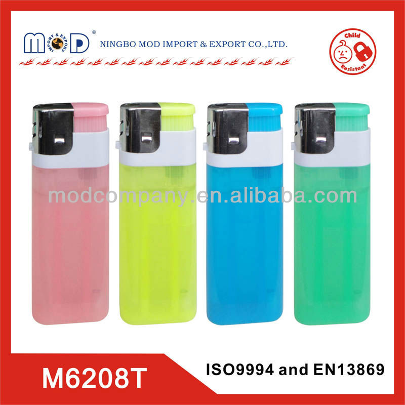 BIG LIGHTER with ISO9994&EN13869-Refillable plastic piezo Jumbo LIGHTER 9.7 cm