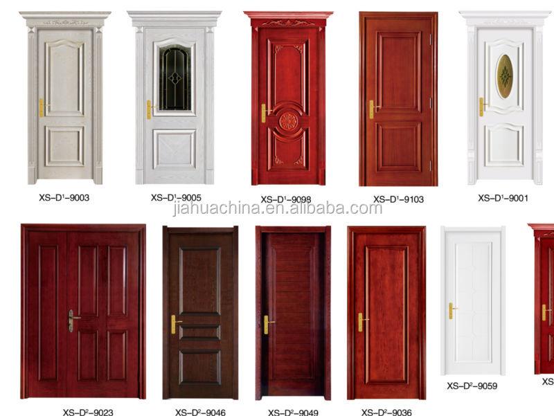New trends anti theft teak wood main door design view for Quality door design