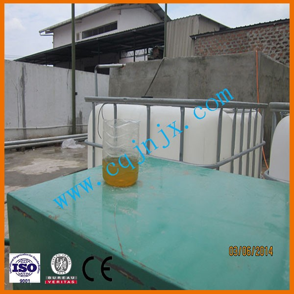 JNC Crude Oil Distillation Equipment/Synthetic Motor Oil Distillation Machine To Diesel Fuel/Oil Purification Factory