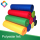 Soft felt craft sheets / non woven color felt fabric Roll