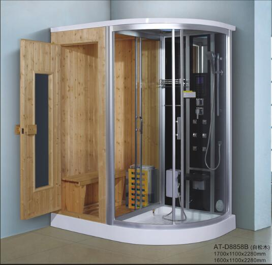 Outdoor Sauna Steam Room Sauna And Steam Combined Room For Home Use ...