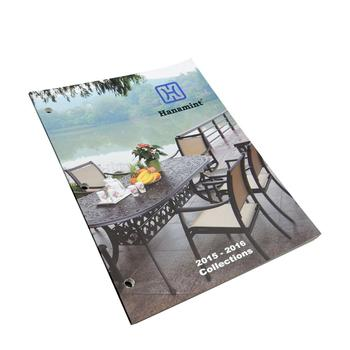 Professional expertise high quality custom A4 art paper catalog printing