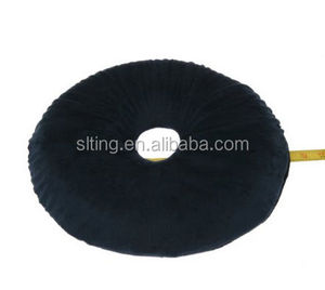 Donut Pillow - Comfortable Latex Foam Car Seat Cushion With Washable Cushion Cover