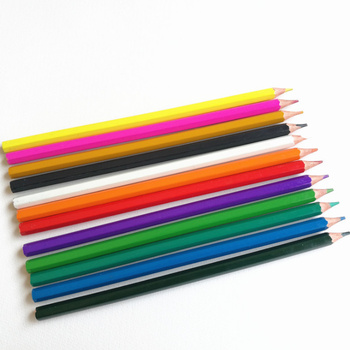 Loose Packaging and Colored Plastic Pencil for USA Market