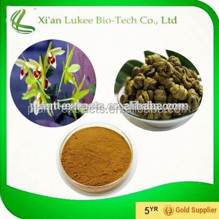 Chinese traditional herbal medecine Dendrobium nobile extract Ration 4:1 10:1