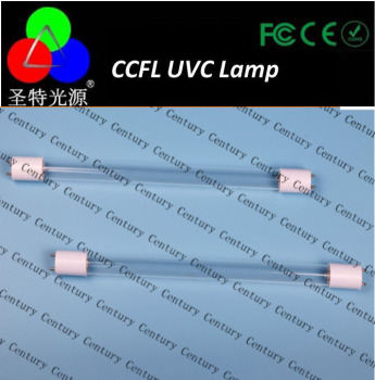 Conpetitive price uvc quartz tube for uv lamp hot sale 3w 254nm uv germicidal lamp with high quality