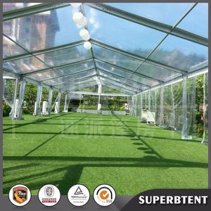 china marquee luxury transparent wedding party clear plastic tent with clear roof,clear pvc tent cover