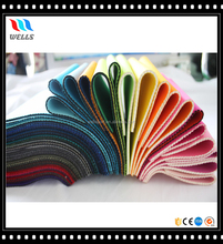 Colorful Nylon Fabric Laminated Soft SBR Neoprene Sheet
