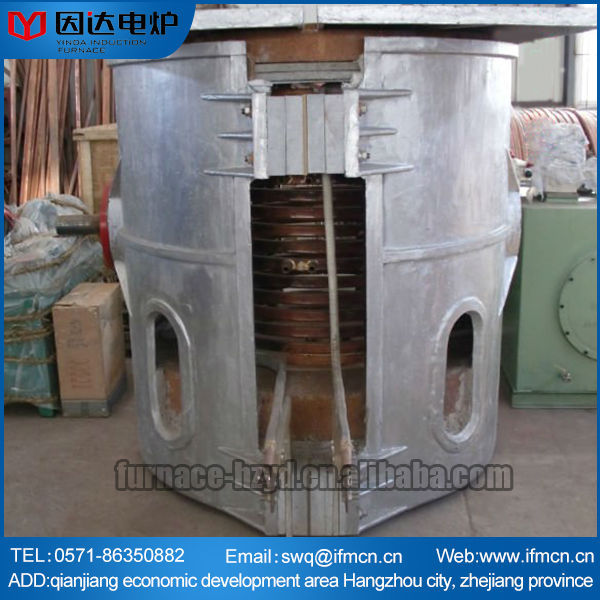 Best prices newest high quality oil cylinder hydraulic aluminum melting furnace
