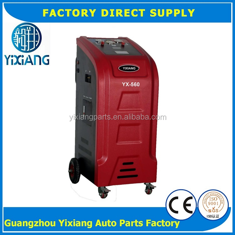 Car AC R134a High & low Pressure Refrigerant Recovery Machine System