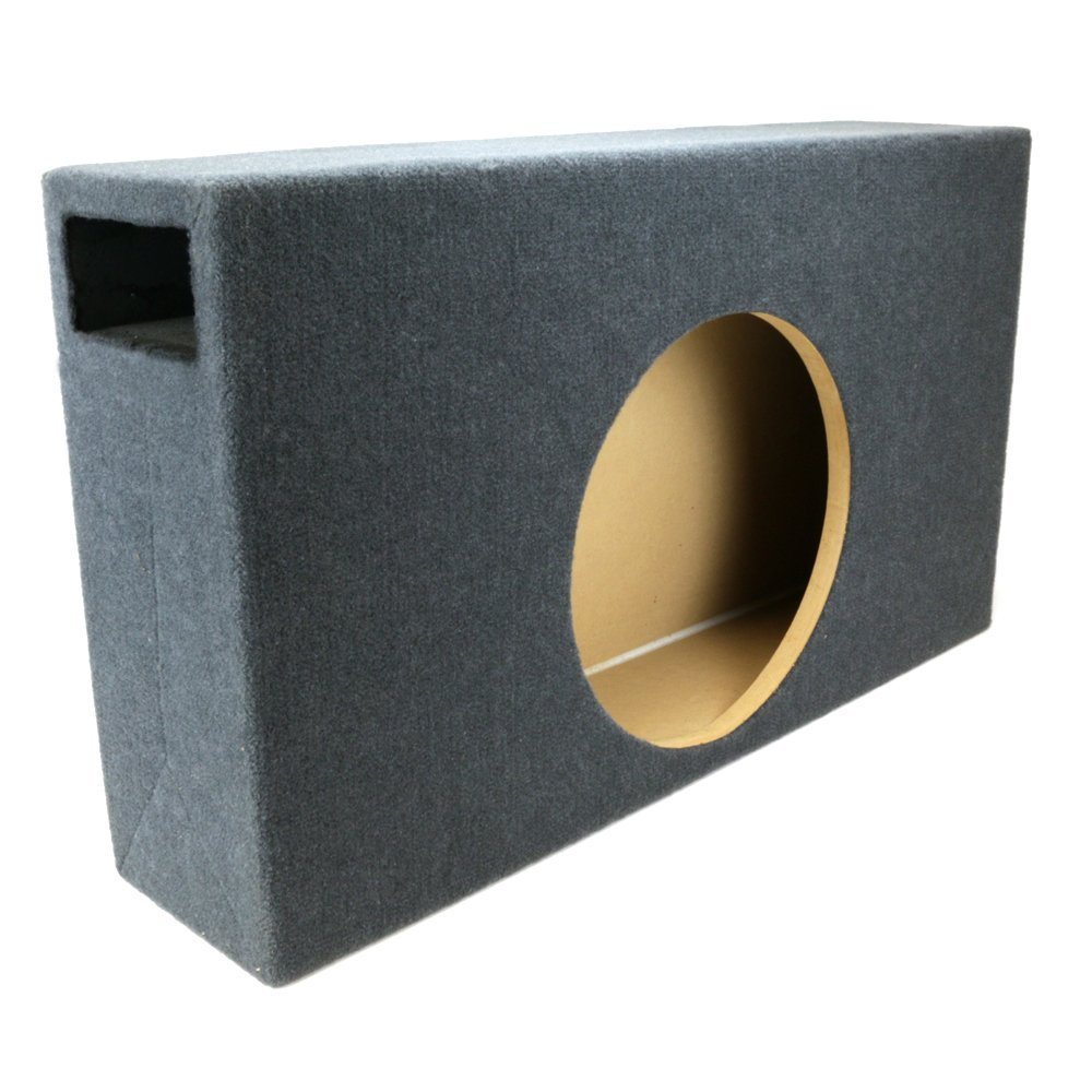"0.95 ft^3 Ported Shallow-Mount MDF Sub Woofer Enclosure for Single JL Audio 12"" TW3 (12TW3) Car Subwoofer - 3/4"" Premium MDF Construction - Made in U.S.A."