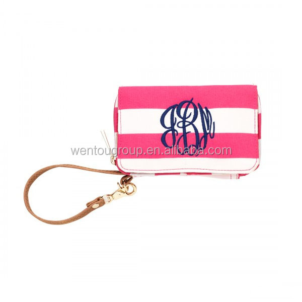 Fashionable Pink Smartphone Sawyer Wristlet