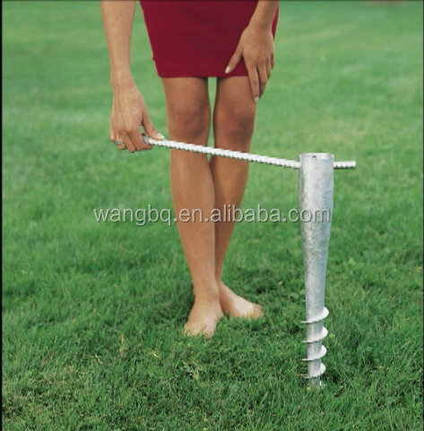 Lowes Umbrella Stand Screw In Ground Buy Lowes Umbrella