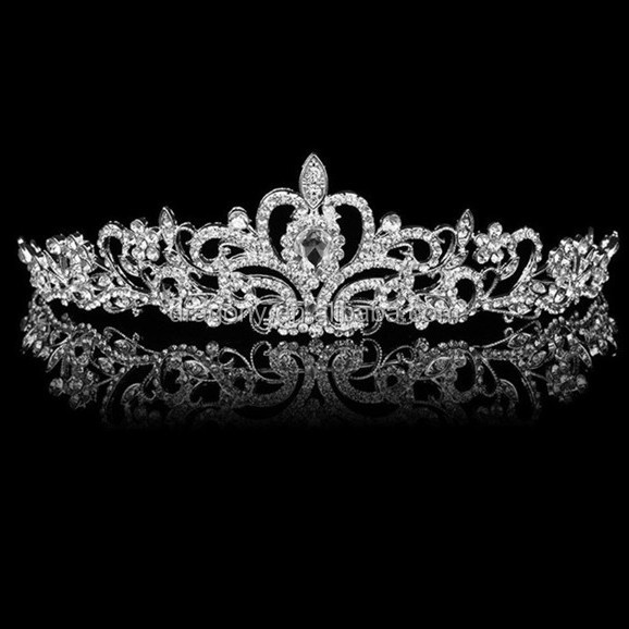 wholesale high quality princess rhinestone tiara <strong>crown</strong>