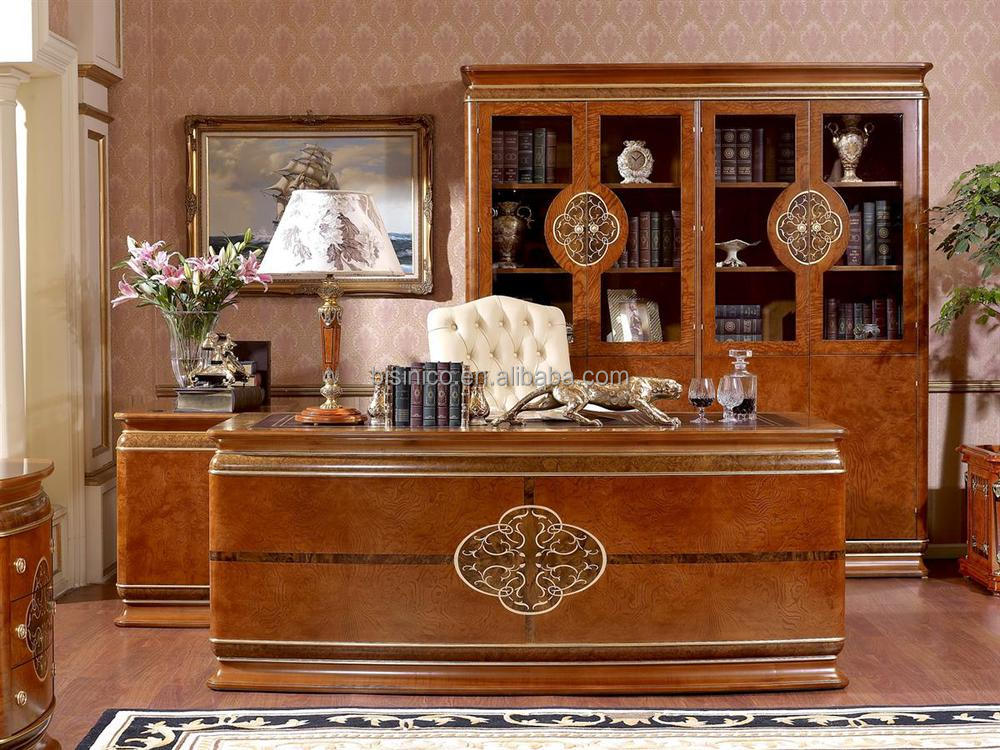 Italian design luxury office furniture italian royal luxury office desk buy italian office Upscale home office furniture