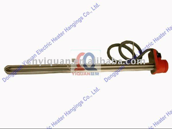 Vertical shape stainless steel 1kw immersion heater for plating tanks