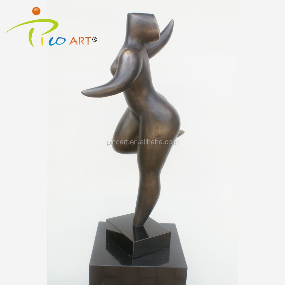 Brons Moderne Abstracte Vrouw Art Sculptuur/Custom Abstract Art Decoratie Sculptuur