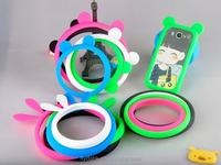 2015 New Silicone Protective Ring Case Cover Universal Silicone Rubber Bumper Case