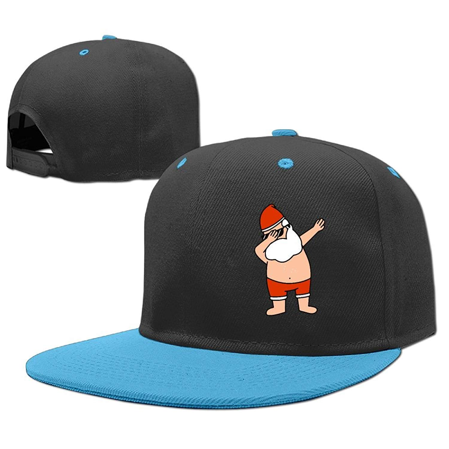 b756984c463a1 Get Quotations · LOGENLIKE Dabbing Santa Kids Snapback Hat - Hip Hop  Baseball Cap for Boys Girls