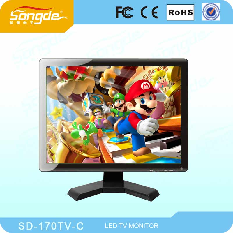 2014 newest design best quality 15/17/19/21.6/23.6/24/26 inch tft bulk LCD computer Monitor with VGA