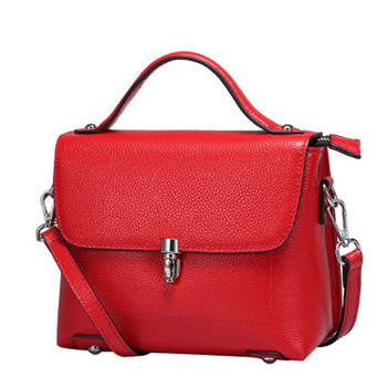China Factory Wholesale Free Custom LOGO Genuine Leather Fashion Leather  Bags Sling Bag Made in Korea f6f31fb73c4a2