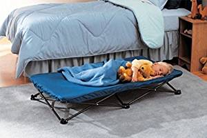 Regalo My Cot Portable Toddler Bed, Royal Blue,