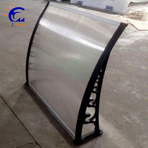 Good quality Glass door canopy awning