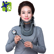 air inflatable neck traction support, professional cervical traction device