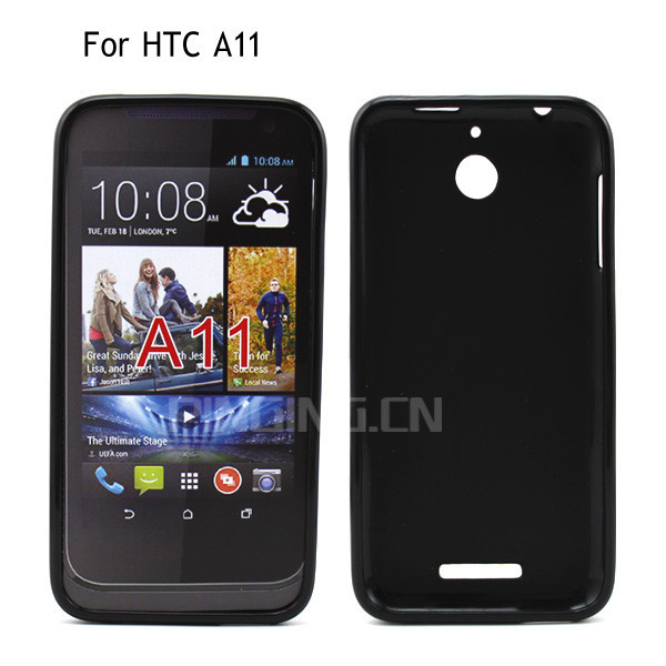 New Models Soft TPU Back Cover Case for HTC A11, Cheap Mobile Phone Case For HTC Desire 510