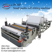 Small Jumbo Roll Slitting Rewinding Machine
