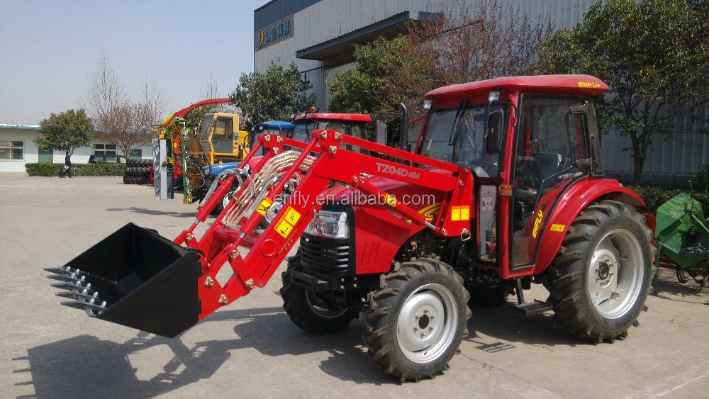 Chinese cheap good quality hot sale in Australia Foton farm tractor DQ404 with front end loader